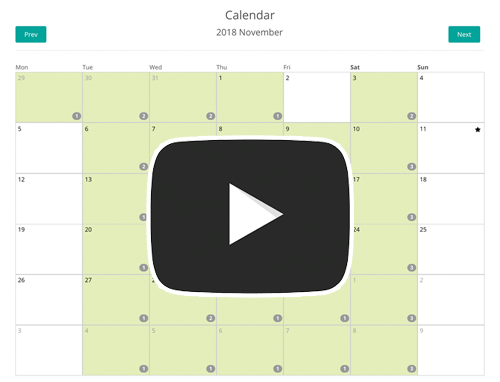 Music teacher scheduling calendar software