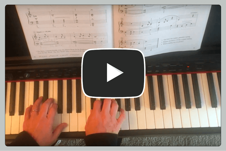 Music teacher software video features for students